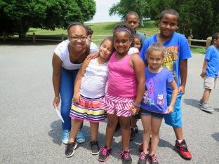 jaida and kids
